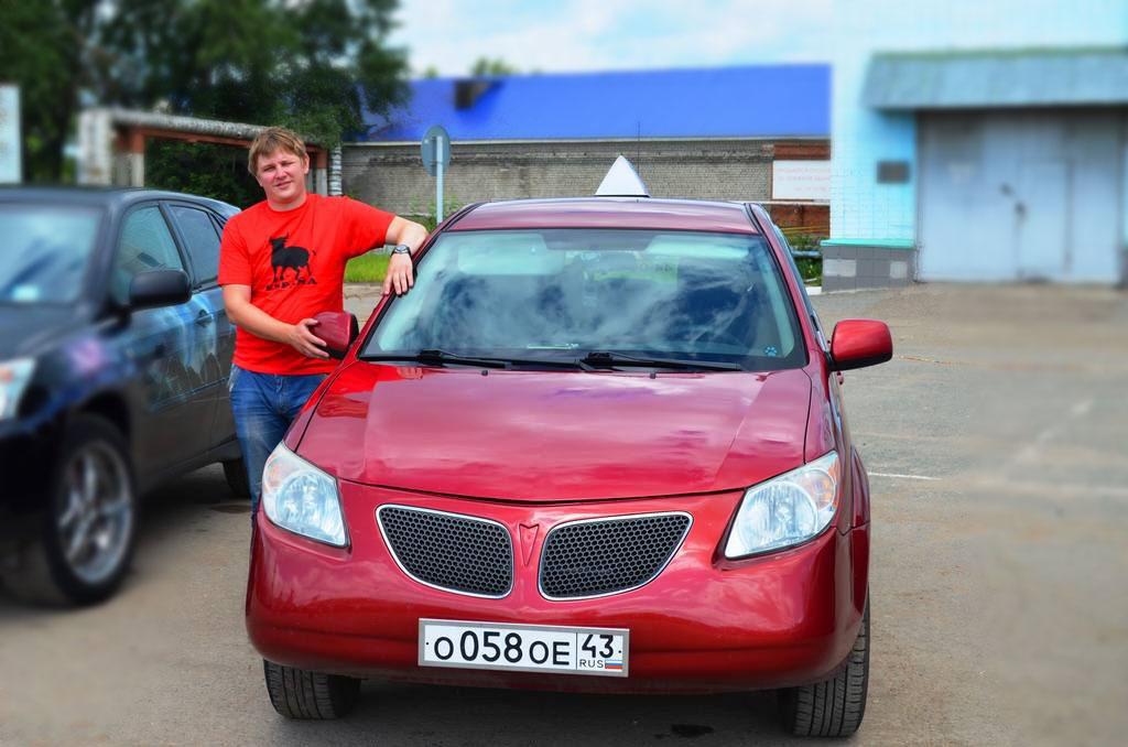 Ионов Антон Николавевич. Автомобиль Pontiac Vibe.